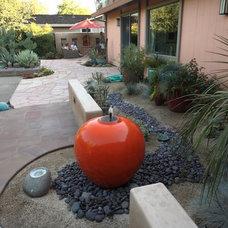 Eclectic Landscape by Luciole Design Inc.