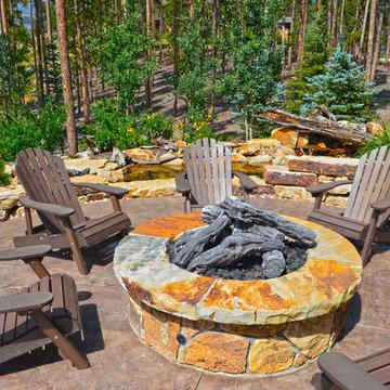 Design - Build Private Residence Landscape in the Highlands at Breckenridge, CO