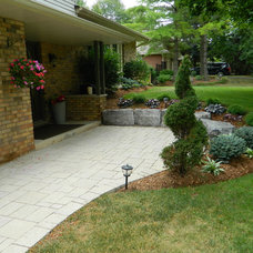 Contemporary Landscape by Earthworks Landscaping