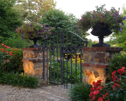 Wrought Iron Entry Gates Houzz
