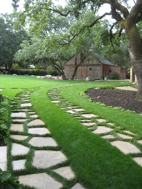 Best backyard driveway design ideas remodel pictures houzz for Garden design questions