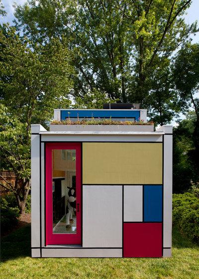 Minimalistisch Garten by Barnes Vanze Architects, Inc.