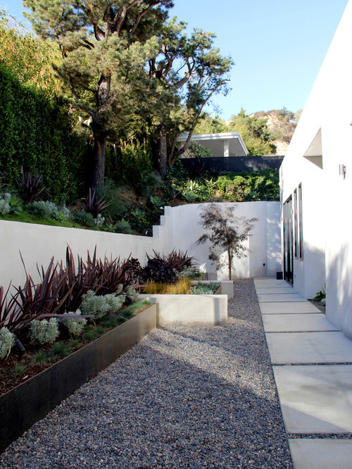 Contemporary Landscape Ideas Enchanting Contemporary Landscaping Ideas & Design Photos  Houzz Review