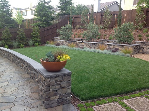Contemporary Landscape by Barry Abshear Landscape Services