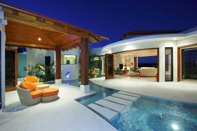 Tropical Landscape Doonan House