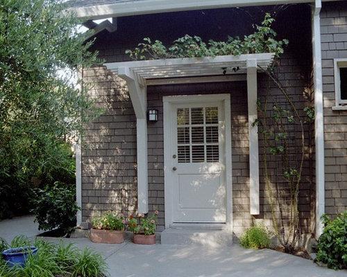 SaveEmail - Best Over Door Pergola Design Ideas & Remodel Pictures Houzz