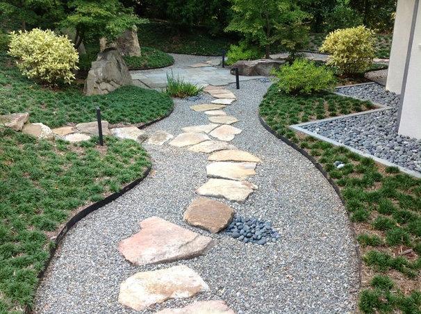 Asian Landscape by Stone Center of Carolina