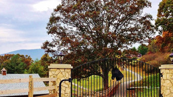 Driveway Gate for Jefferson, NC Horse Farm