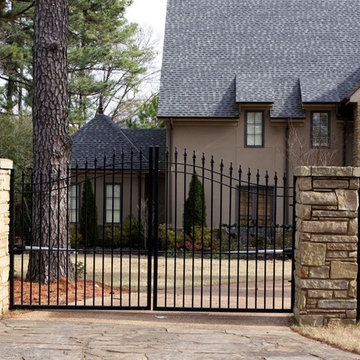 Driveway gates and fencing