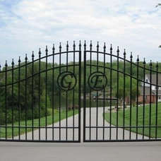 Traditional Landscape by Heritage Iron and Decor