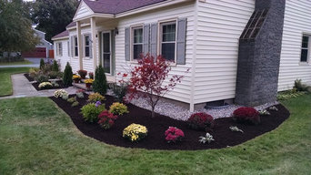 Driveways/Front House landscapes