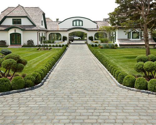 Best Paver Driveway Design Ideas & Remodel Pictures | Houzz