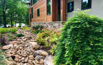 Yard of the Week: Lake House Landscape Composed Like a Symphony