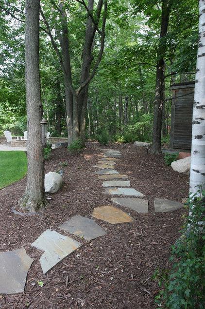 Traditional Landscape by Miller Creek Lawn & Landscape