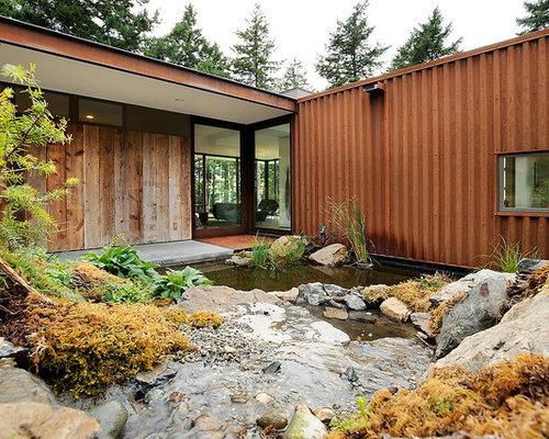 Shipping Container Garden Design Ideas Renovations Photos