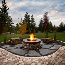 Traditional Landscape by Copper Creek Landscaping