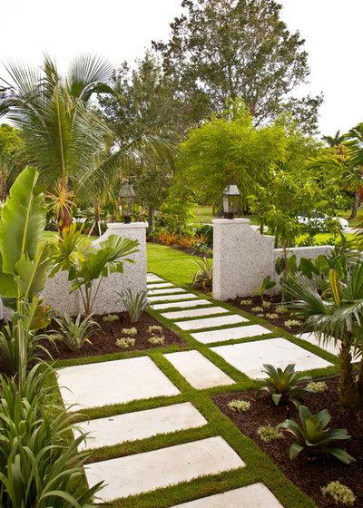 Тропический Сад by BORDEN Landscape Design