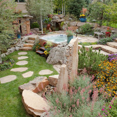 Traditional Landscape by Outdoor Craftsmen