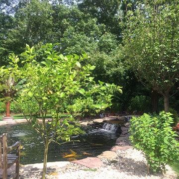 East Hampton Koi Pond
