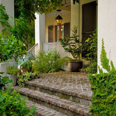 Tropical Landscape by WaterMark Coastal Homes, LLC