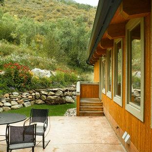 Colorado Mountain Home Landscaping Ideas | Houzz on Mountain Backyard Ideas id=66205