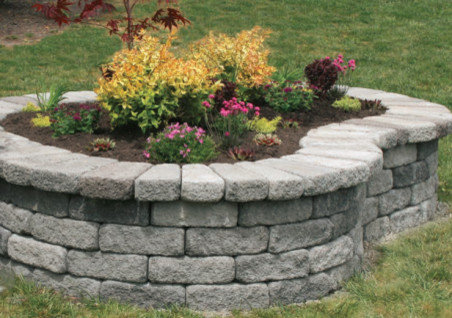 Stone Planter Box Raised Bed