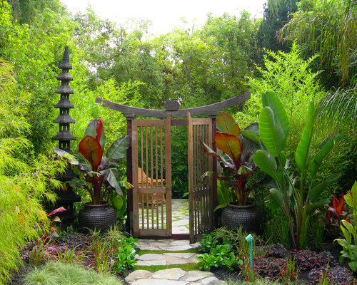 Japanese Garden Gates | Houzz