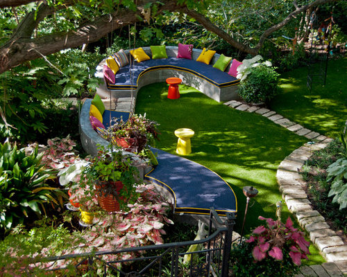 Garden Seating Design Ideas Remodel Pictures Houzz