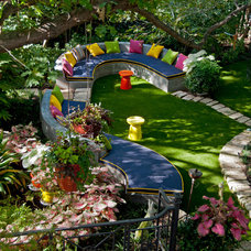 Eclectic Landscape by Harold Leidner Landscape Architects
