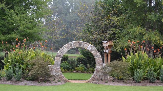 Traditional Landscape Eclectic Landscape