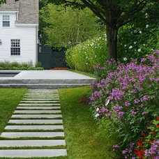 Traditional Landscape by Jonathan Keep Landscape Designer
