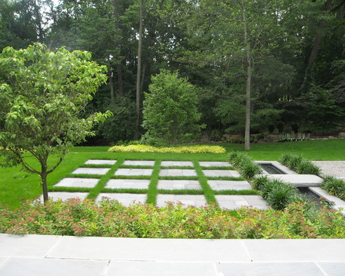 Grid pattern home design ideas pictures remodel and decor for Grid landscape design