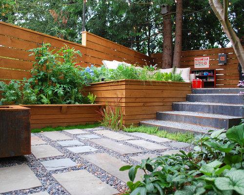 Jardin potager moderne photos et id es d co de jardins for Deco jardin potager