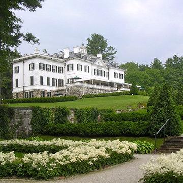 Edith Wharton's The Mount Gardens and Grounds