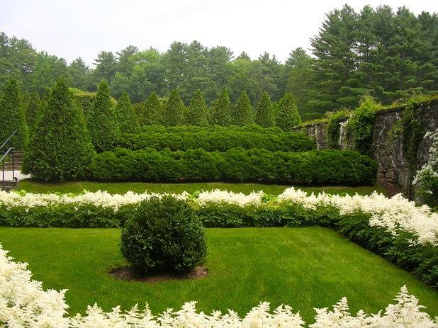 Классический Сад Edith Wharton's The Mount Gardens and Grounds