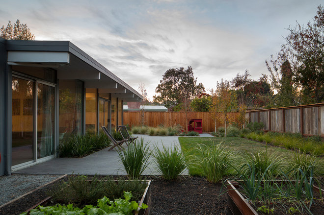 Midcentury Landscape by building Lab, inc.