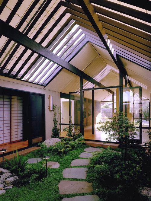 indoor atrium home design ideas pictures remodel and decor
