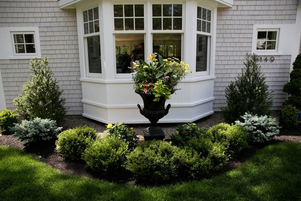 Traditional Garden by Elaine M. Johnson