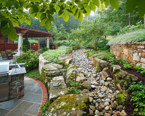 Backyard Drainage Ideas drainage ditch landscaping bing images Landscape Drainage