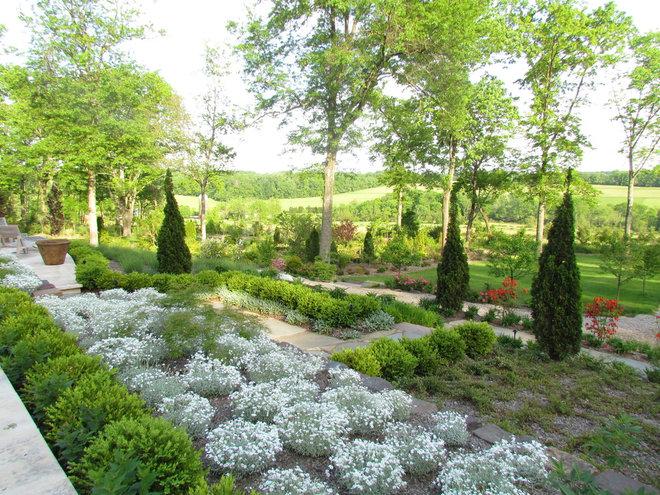 Mediterranean Landscape by Rutgers Landscape Design