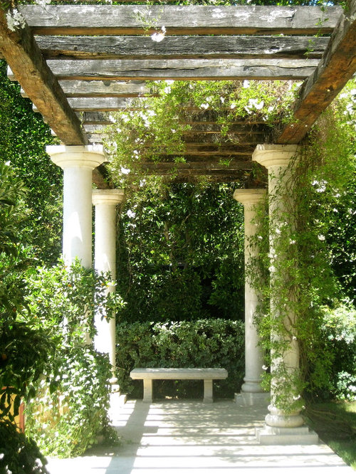 Garden Pillars Design Ideas Remodel Pictures Houzz