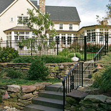 Traditional Landscape by Trueblood Design-Build