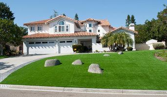 Encinitas, CA Artificial Turf Installation