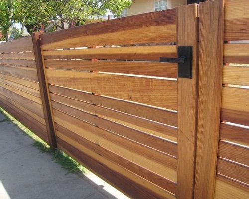 Modern Gates And Fences Houzz