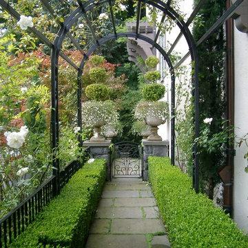 English Hillside Garden
