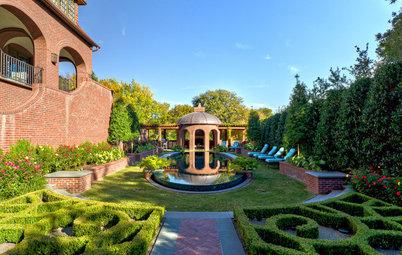 Formal Parterre Gardens Rule the Landscape