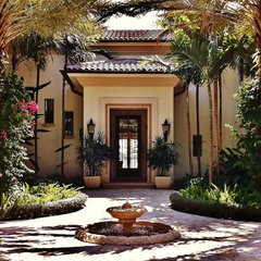 mediterranean entry by tuthill architecture