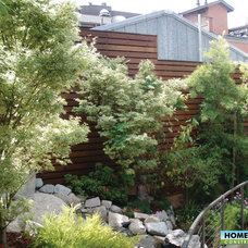 Asian Landscape by Home & Garden Construction Group