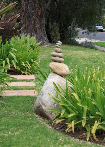 Éclectique Jardin by Dale Newman Landscape Architect