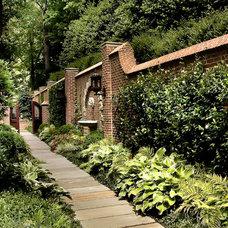 Traditional Landscape by Land Plus Associates, Ltd